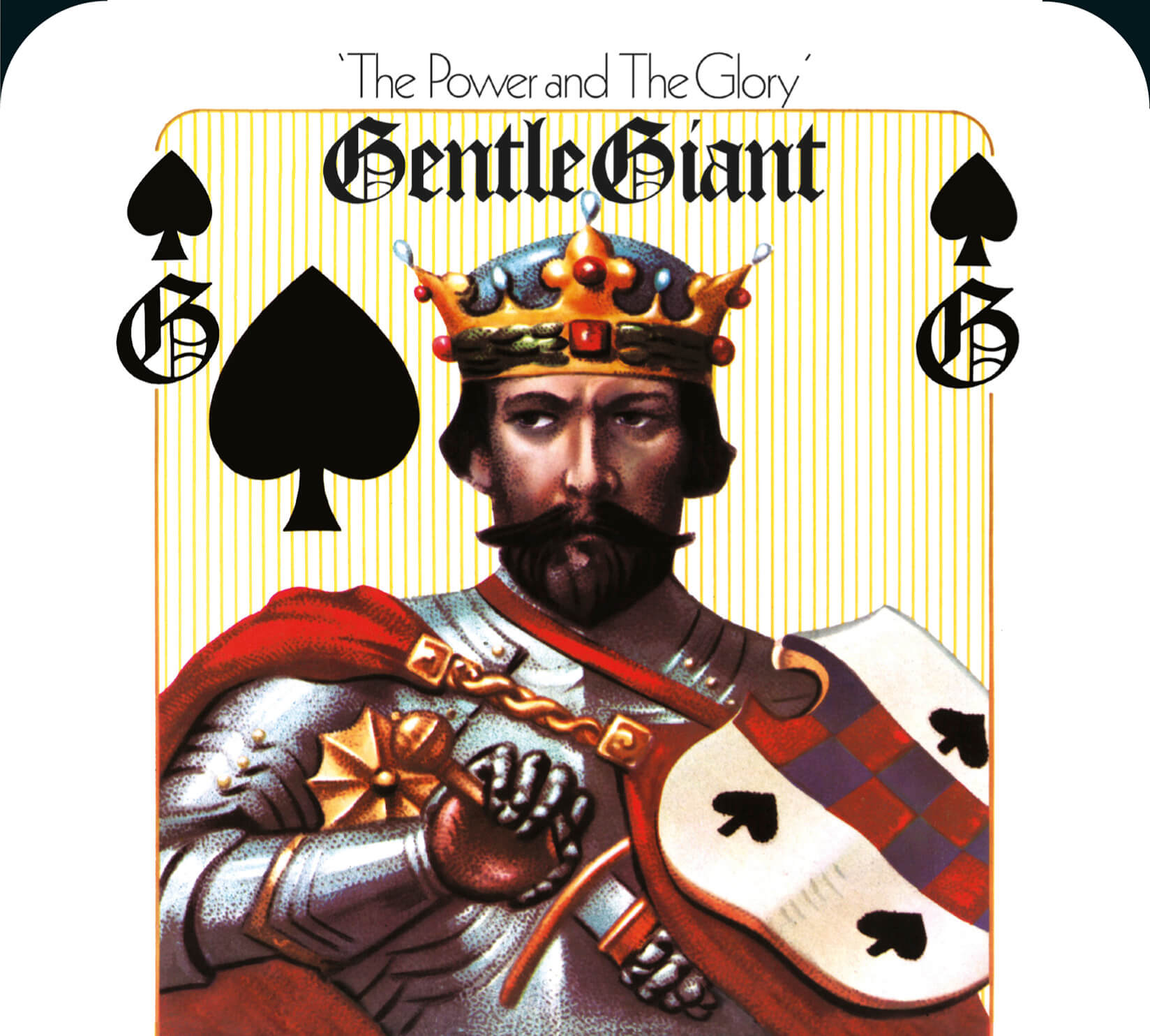Resultado de imagem para gentle giant 1974 the power and The Glory